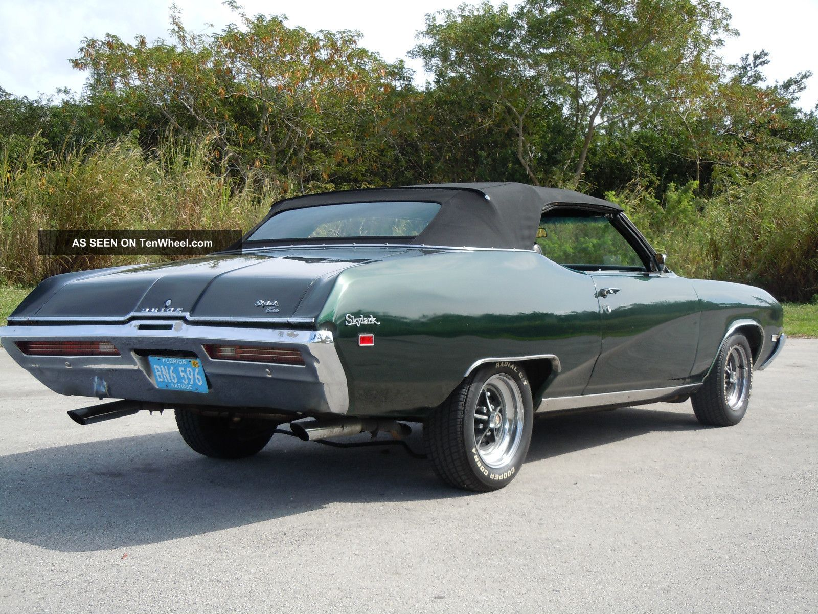 7l Skylark photo 1, 1969 Buick Skylark Custom Convertible 2 - Door 5.