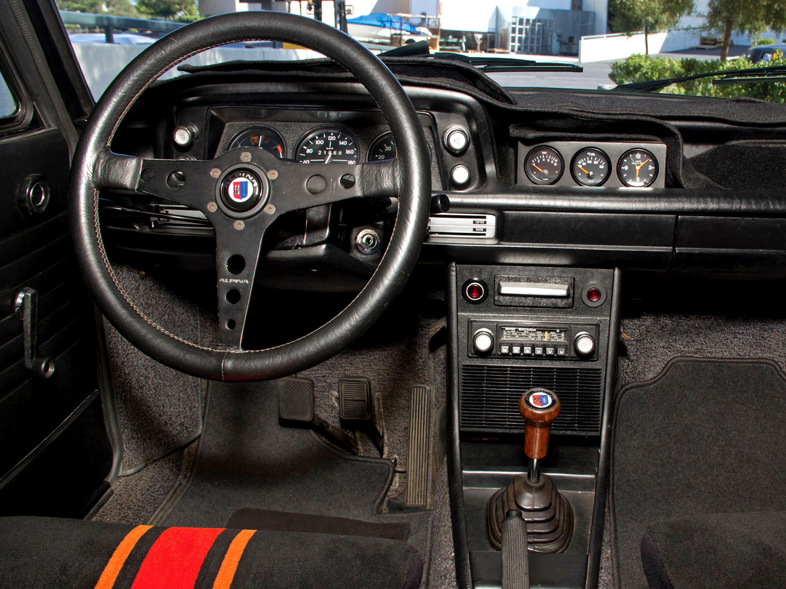 1974 BMW 2002 tii Touring by Alpina (E10) classic interior wallpaper background