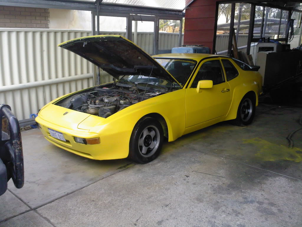 '78 924. Carrera? Body Kit Bright Yellow