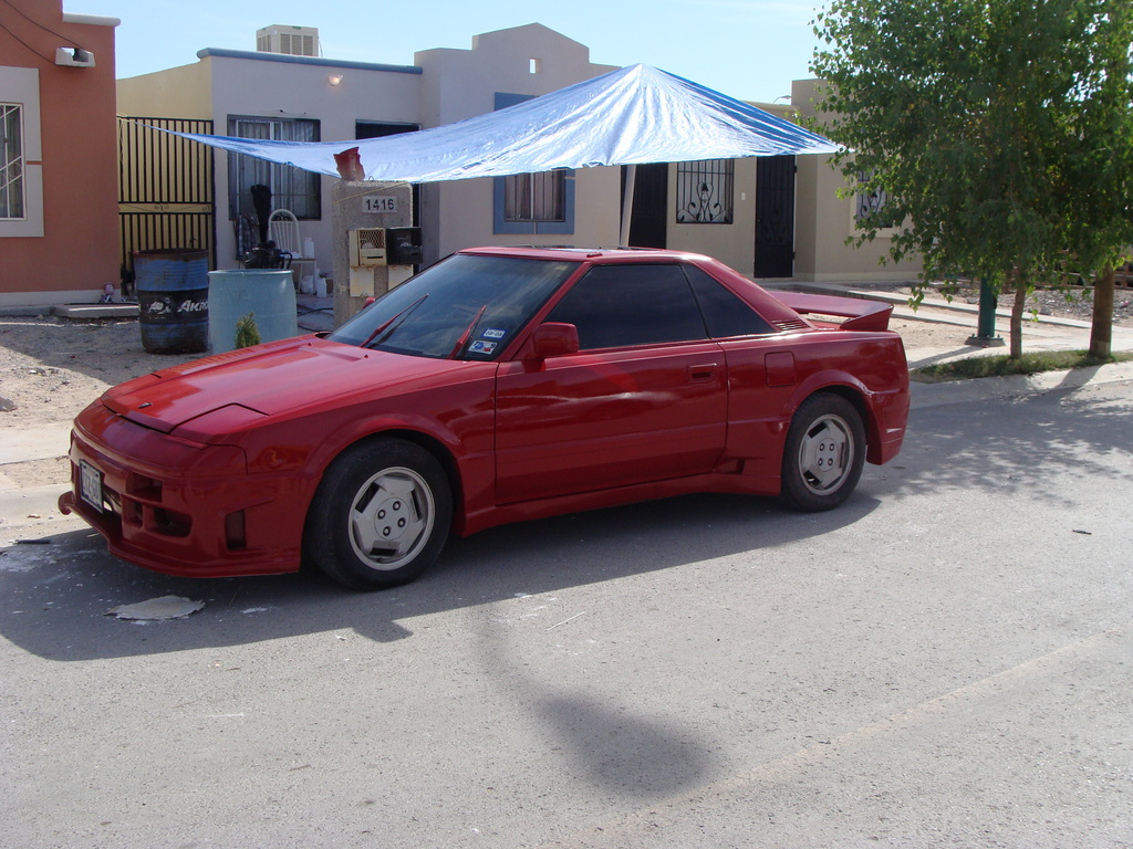 1986 Toyota MR2 Body Kit