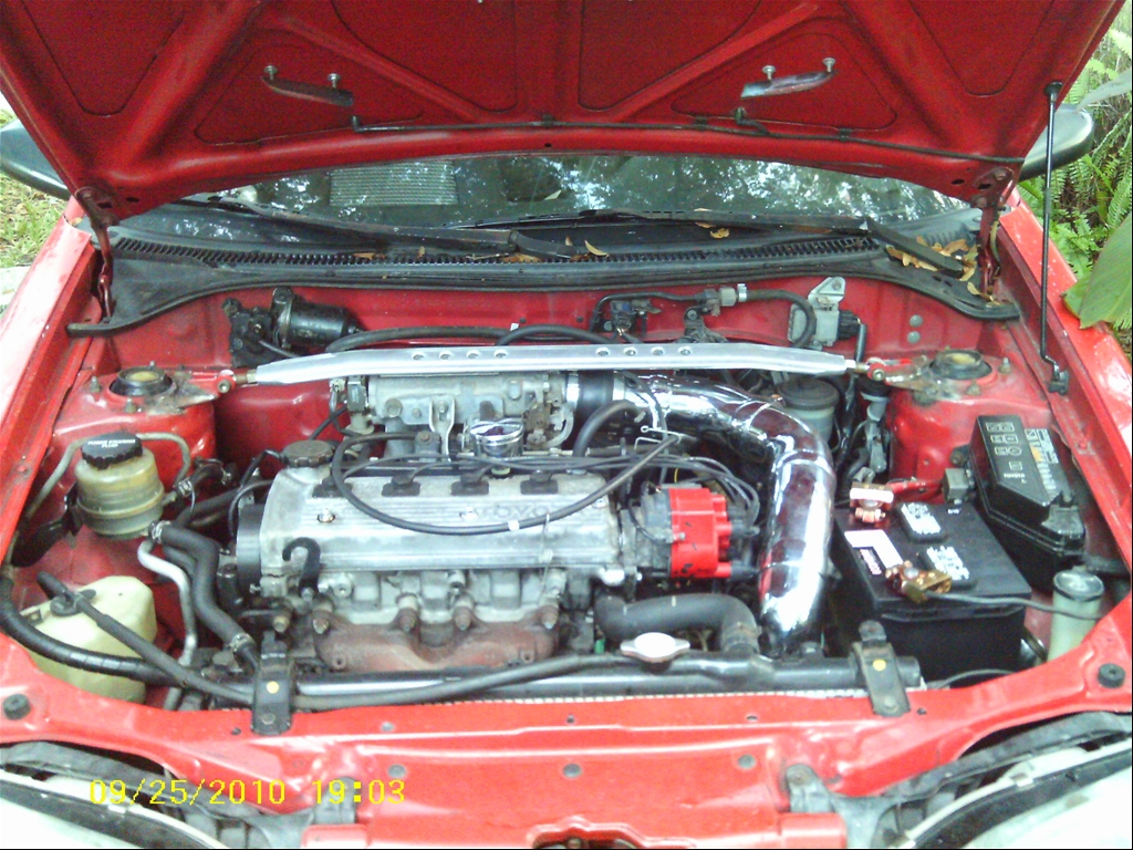 1992 Toyota Paseo Engine