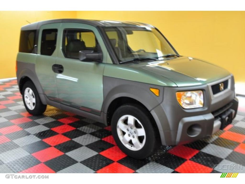 2003 Honda Element Green