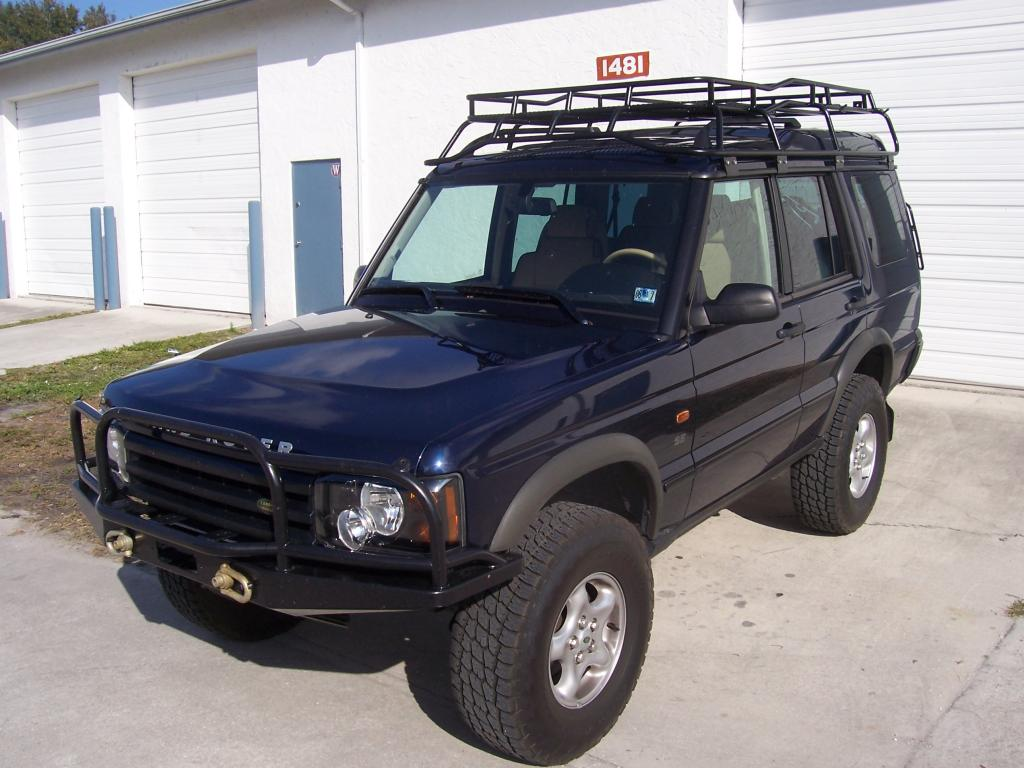 2004 Land Rover Discovery Off Road
