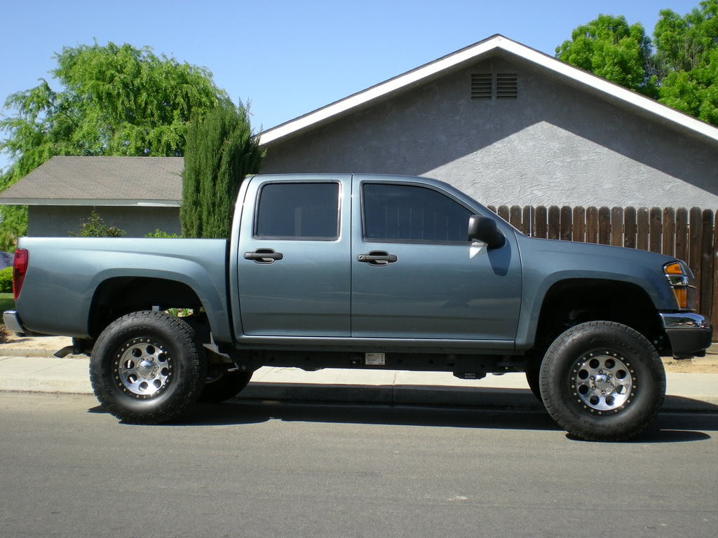 2007 Chevrolet Colorado Lifted
