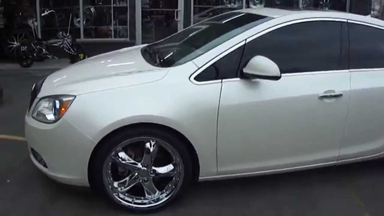 HILLYARD CUSTOM RIM & TIRE 2012 BUICK VERANO 20 INCH CHROME WHEELS