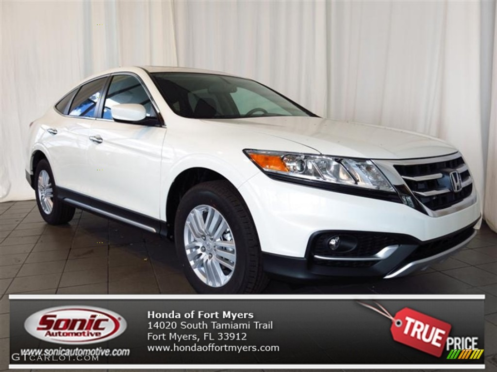 2013 Honda Crosstour White