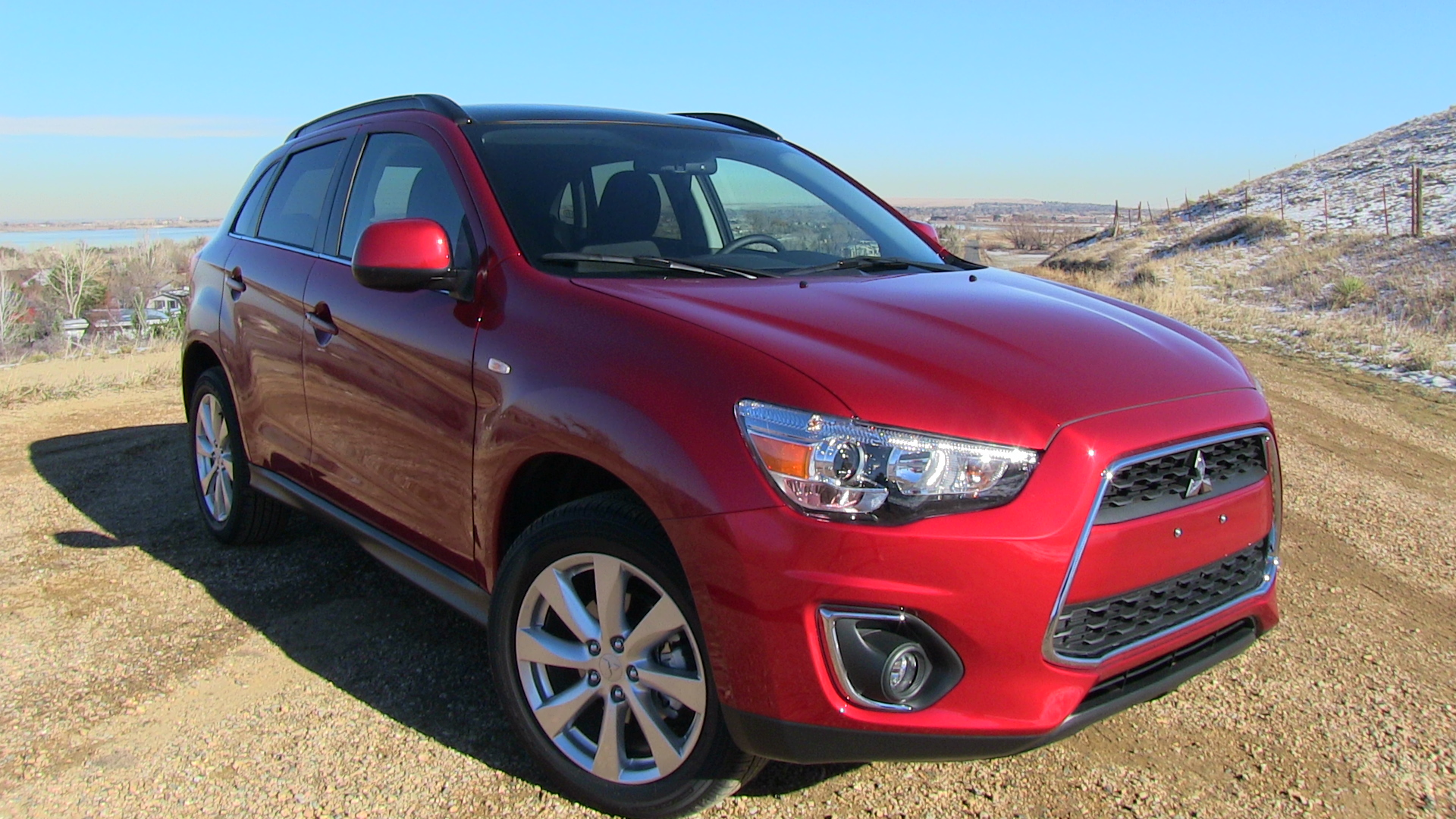 mitsubishi outlander sport 2015 red