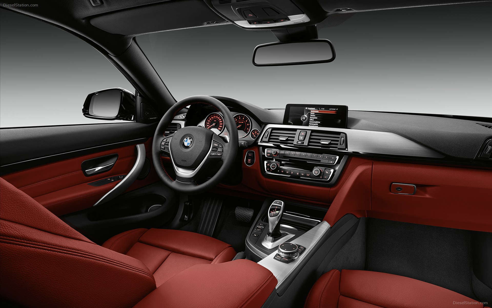 The interior is spacious thanks to the longer wheel base and together with the longer and more raked wind shield the Coupe offers a spacious feel.