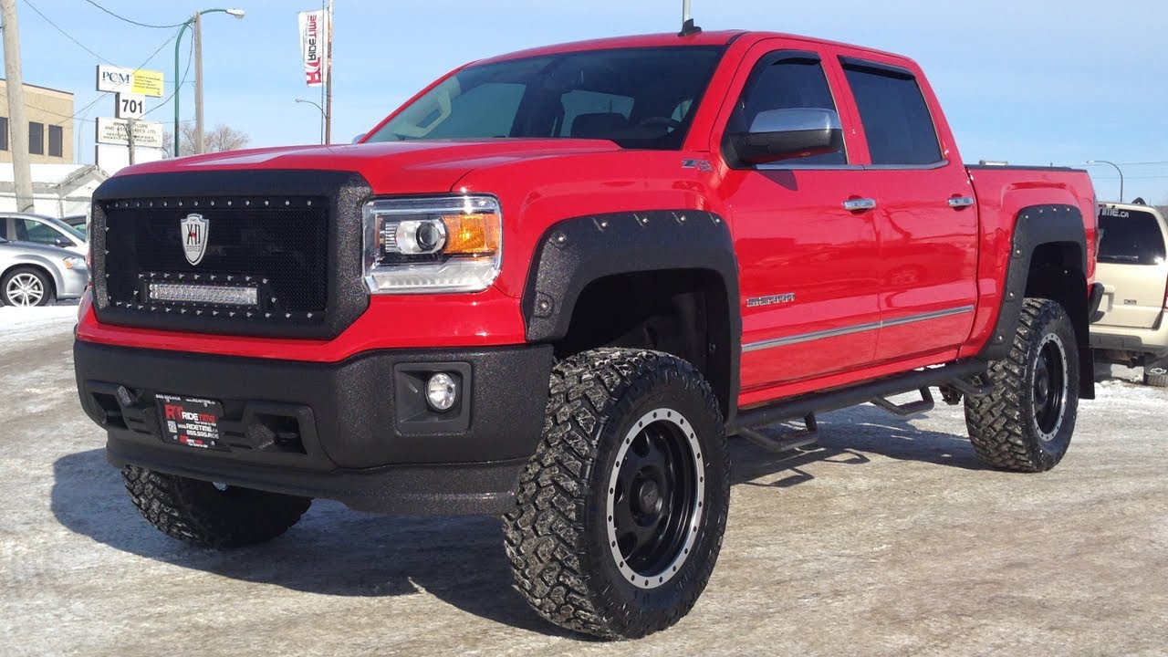 2014 Gmc Sierra 1500 Lifted