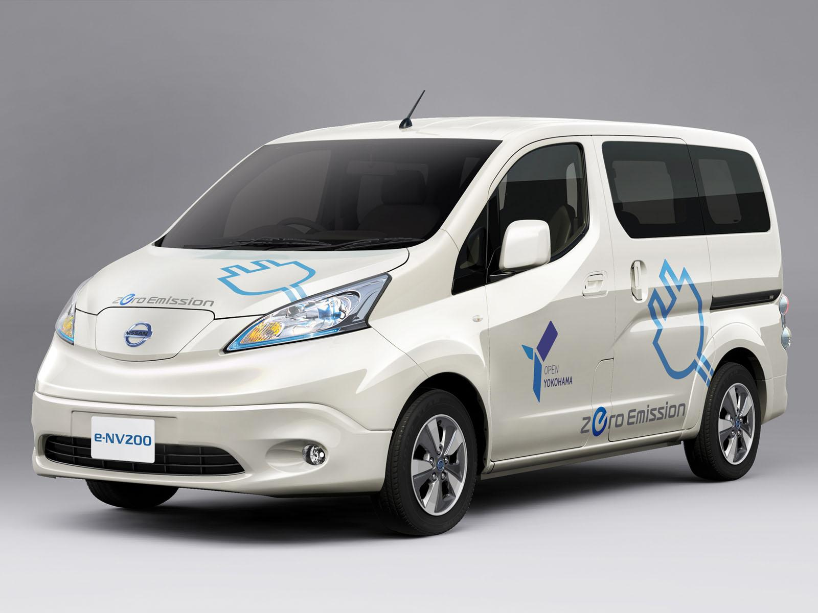 2014 Nissan e-NV200 Previewed Ahead of Tokyo Debut