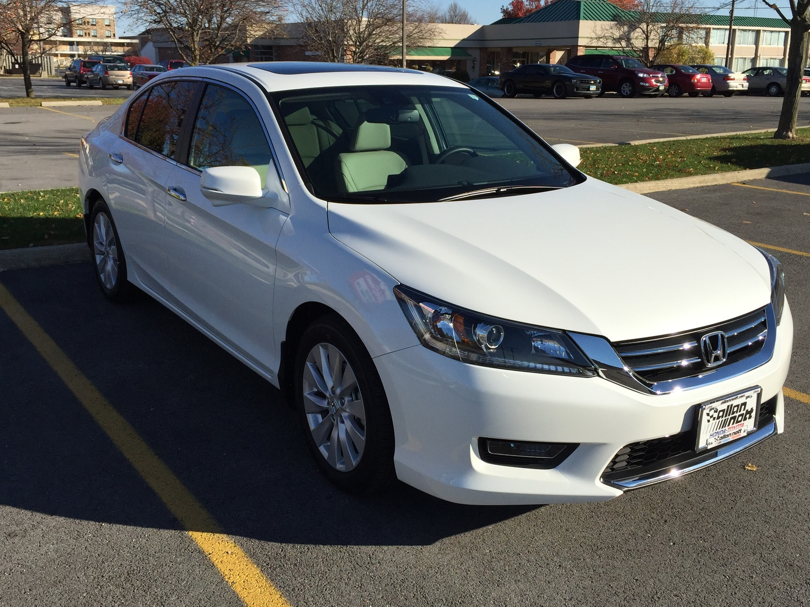 2015 Honda Accord Hybrid EX-L