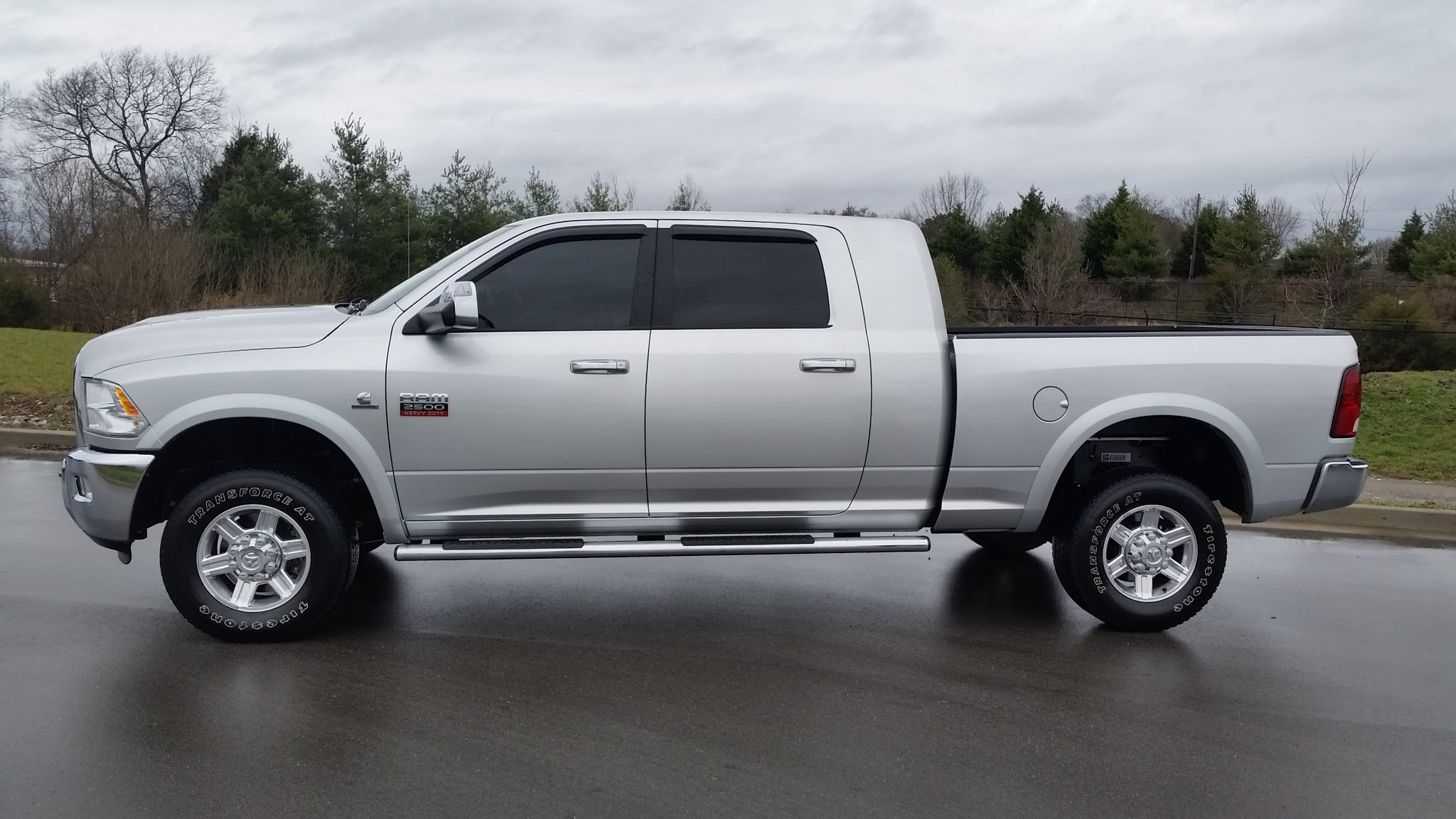 sold.2012 RAM 2500 HD MEGA CAB 4X4 LARAMIE 6.7L CUMMINGS DIESEL 64K SILVER FOR SALE 855-507-8520