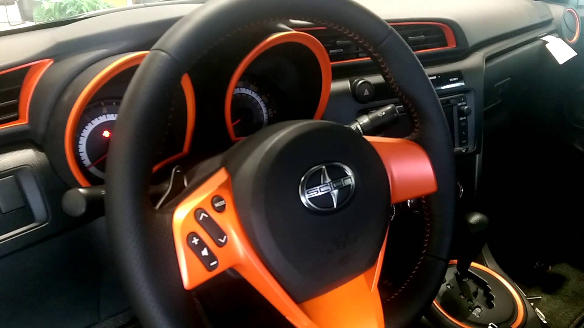 2015 Scion tC Interior