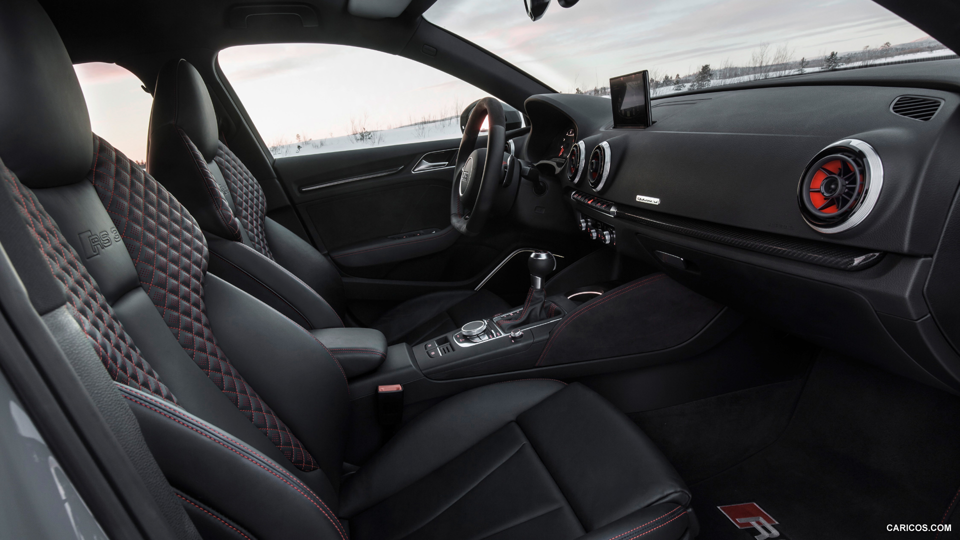 2016 Audi S3 Interior Wallpaper 1920x1080 3330
