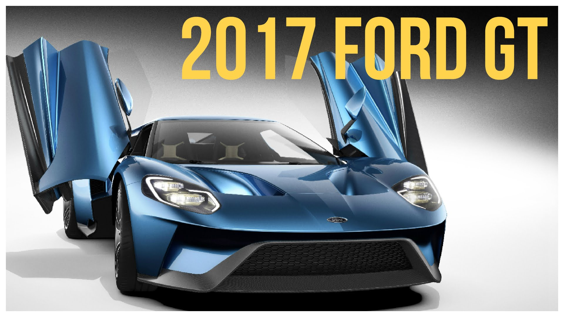 2017 Ford GT Interior and Exterior