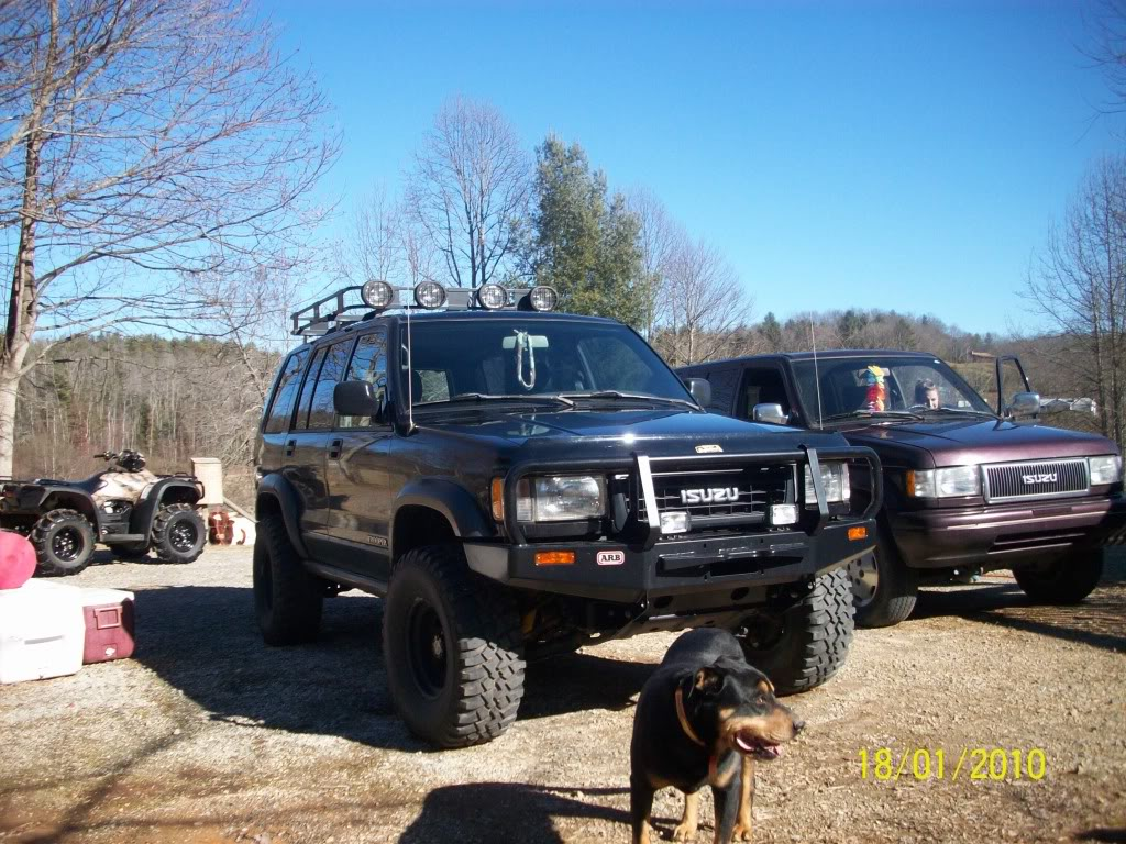 94 Isuzu Trooper Lifted
