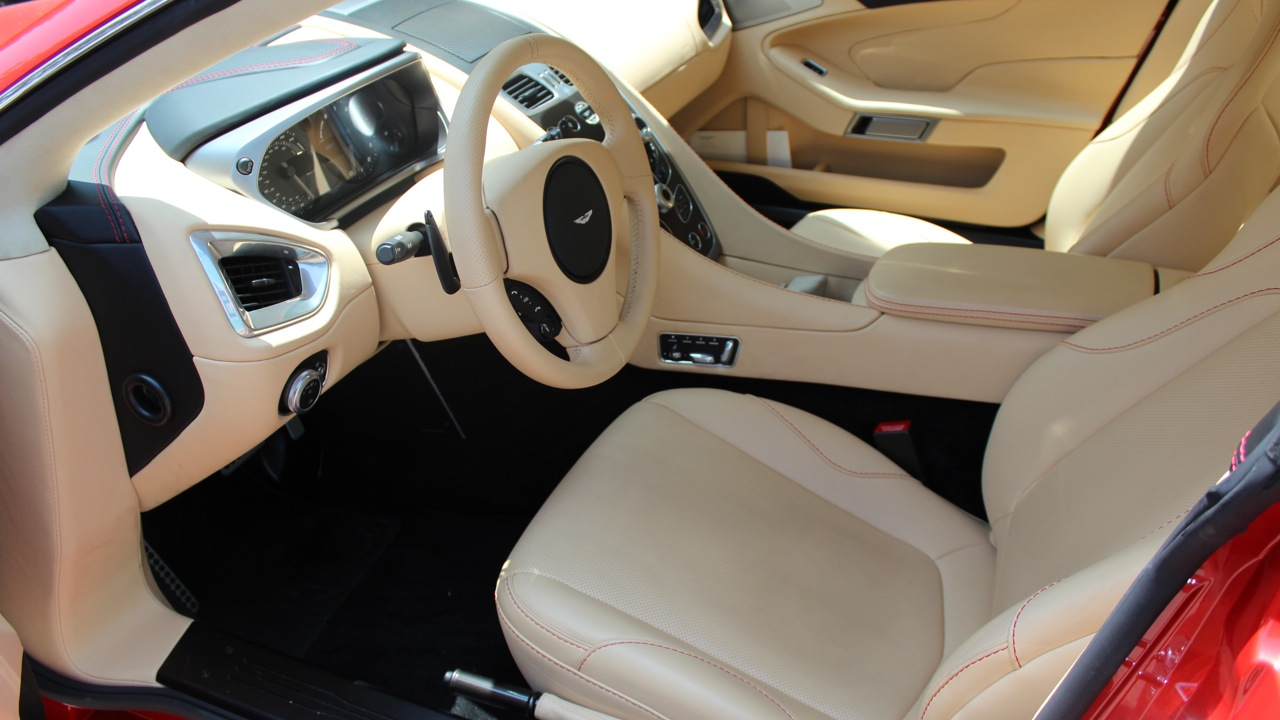 Aston Martin DB9 Interior 2014