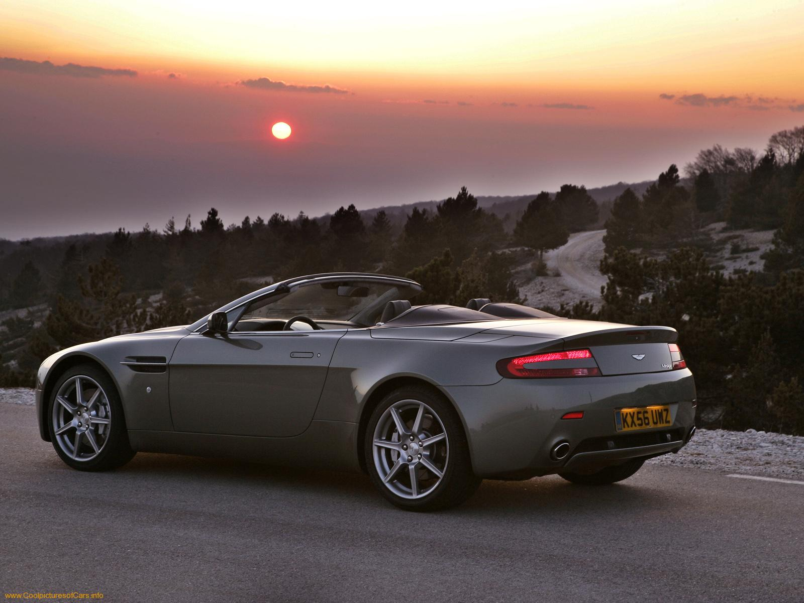 Aston Martin V8 Vantage Convertible Wallpaper 1600x1200 2014