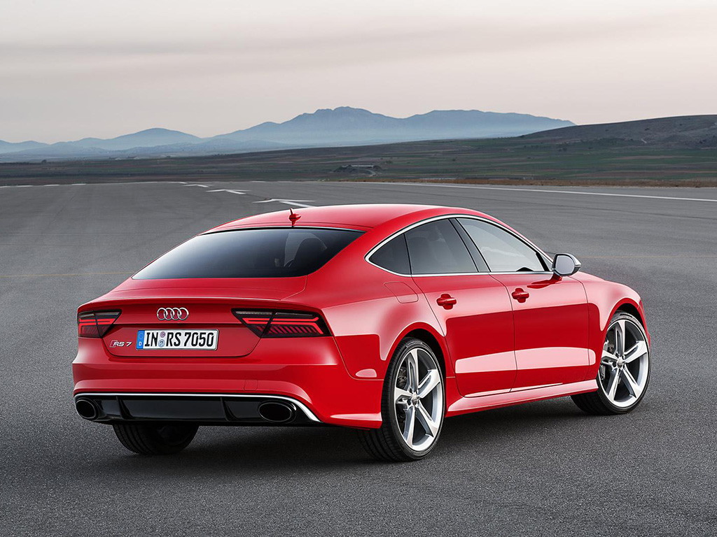 Audi A7 2015 Red