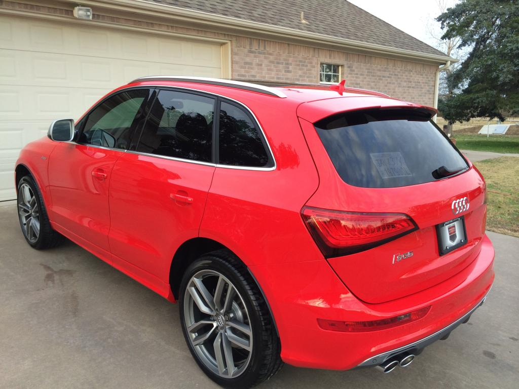 Audi SQ5 Red Interior