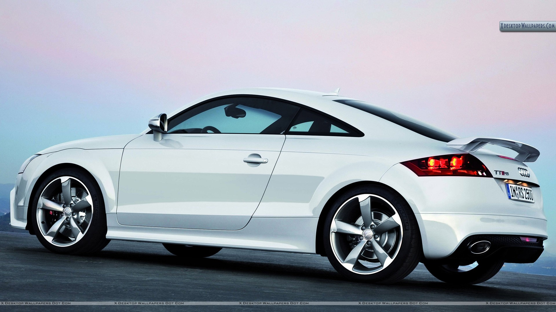 "Download 19 Apr 2014 View. You are viewing wallpaper titled ""Audi TT-RS – White ..."