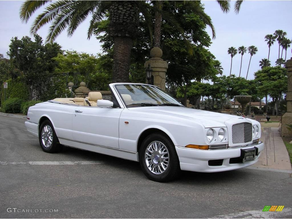White 1999 Bentley Azure Standard Azure Model Exterior Photo #14599399