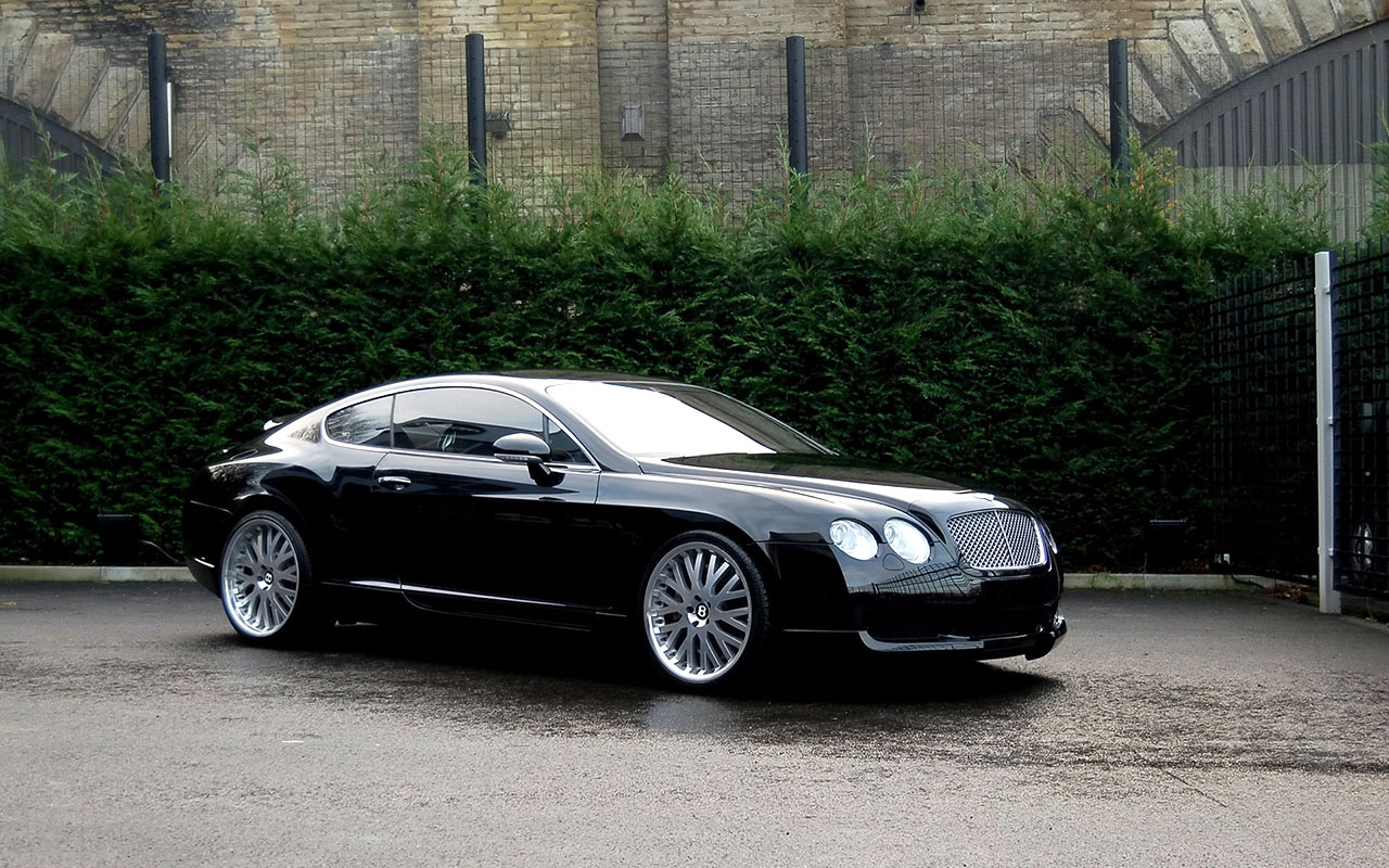 Bentley Continental GT Photo Black Continental GT ...