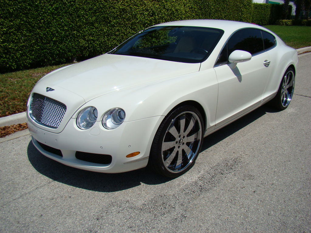 Bentley Continental Gt White Convertible