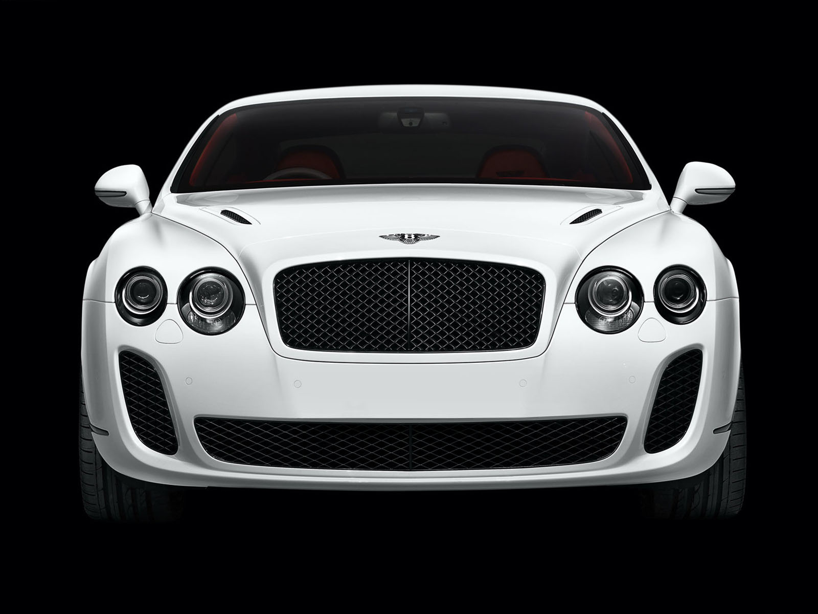 Bentley Continental Supersports White