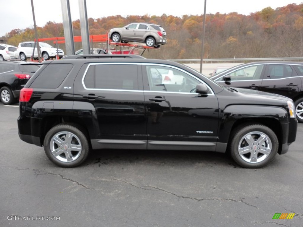 Black Gmc Terrain 2012