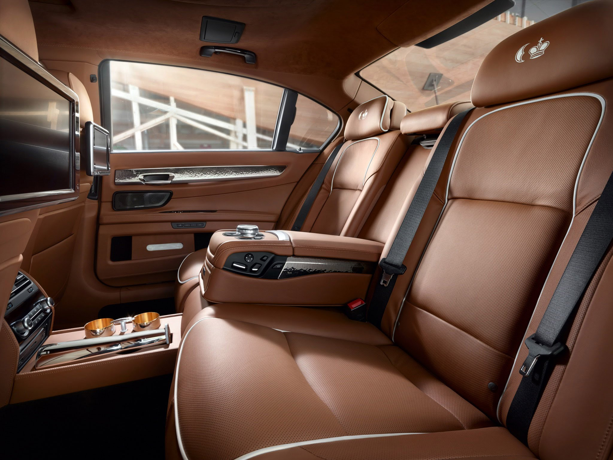 New Interior BMW 7-series 2016 - redesigned
