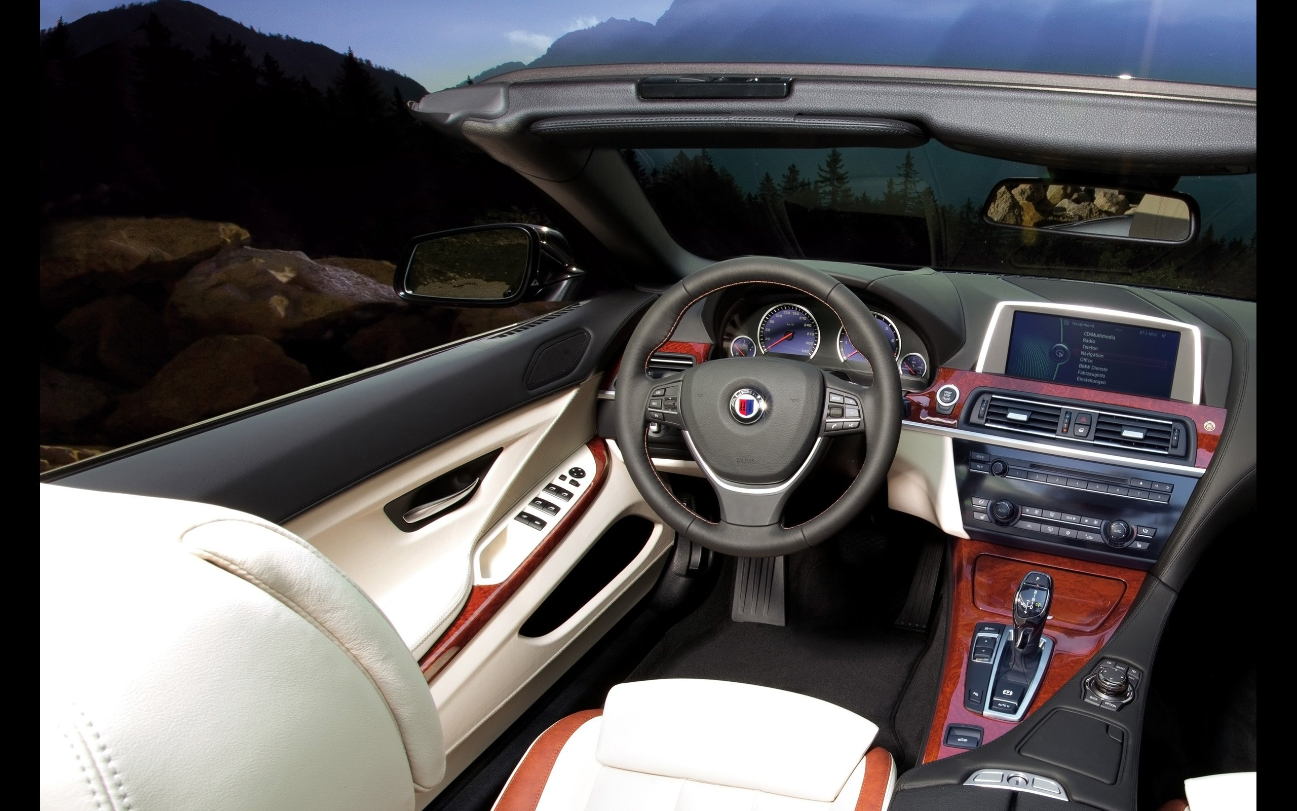 BMW Alpina B6 Interior