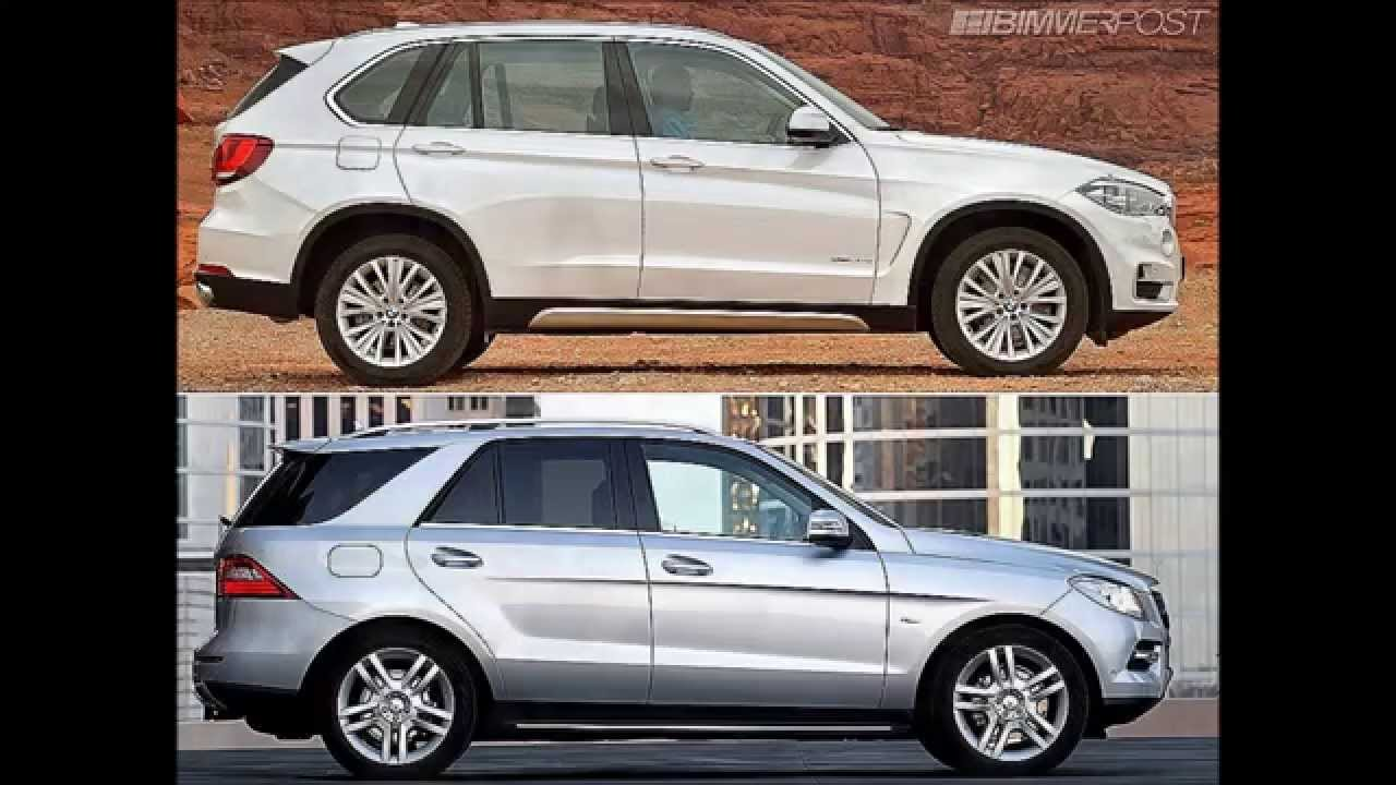 2014 BMW X5 (F15) vs. Mercedes ML Compared