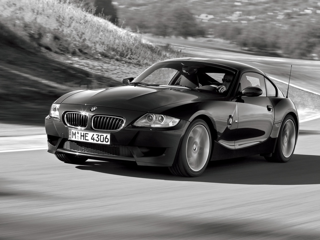 Bmw Z4 Coupe Black