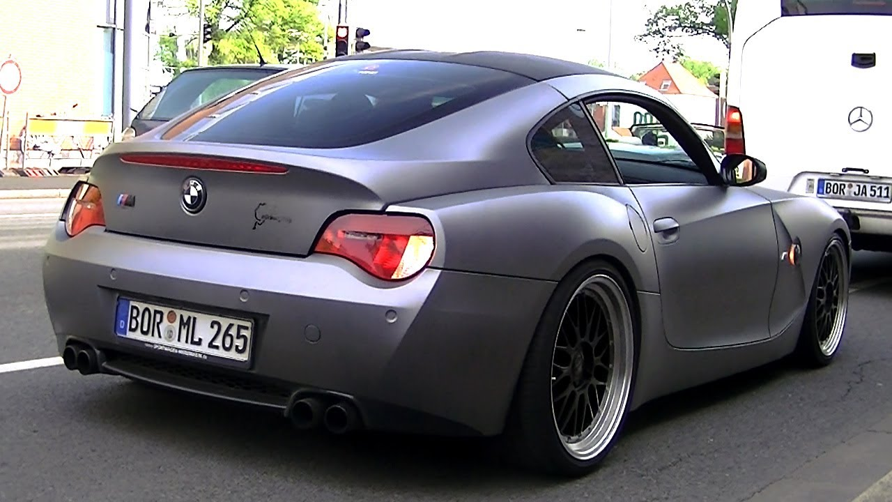 Bmw Z4 Coupe Custom