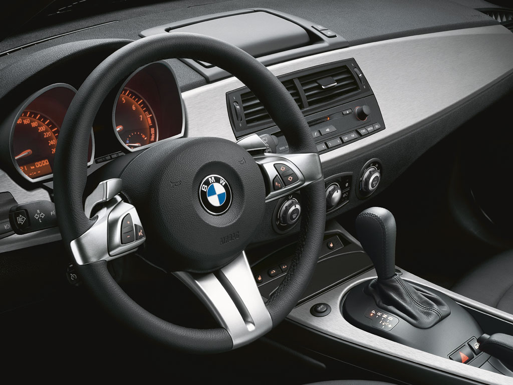Bmw Z4 Interior 2007 Wallpaper 1024x768 4782