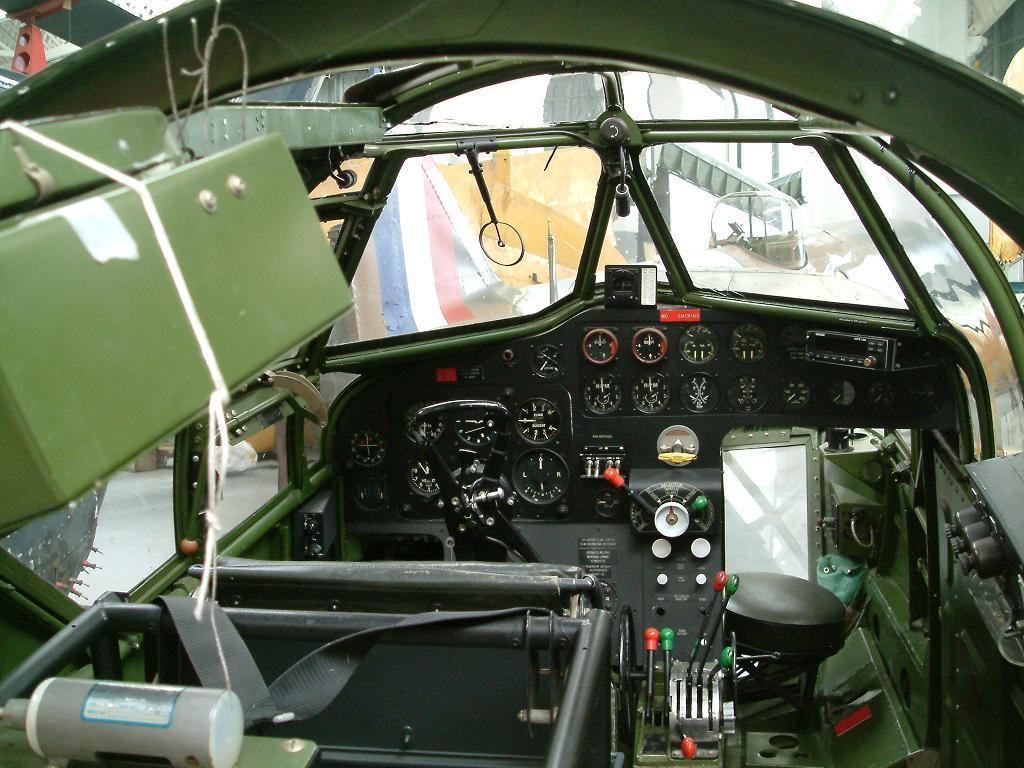 Bristol Blenheim Interior