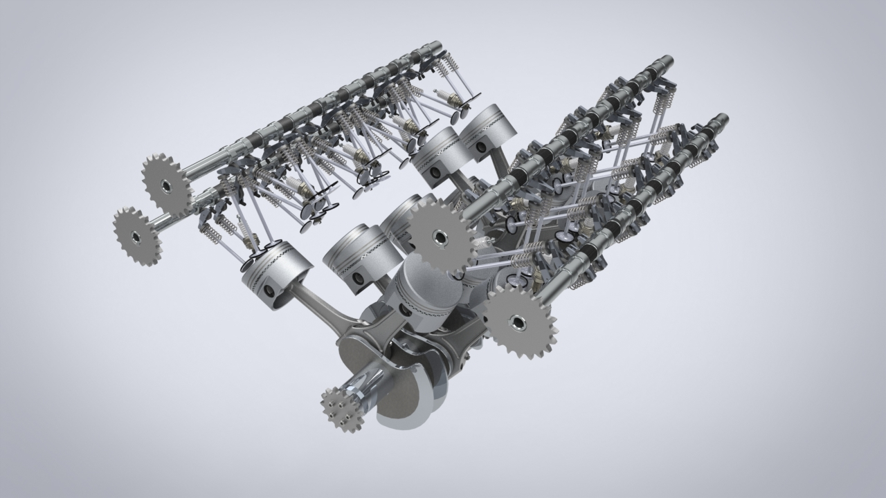 Bugatti Veyron Engine Crankshaft