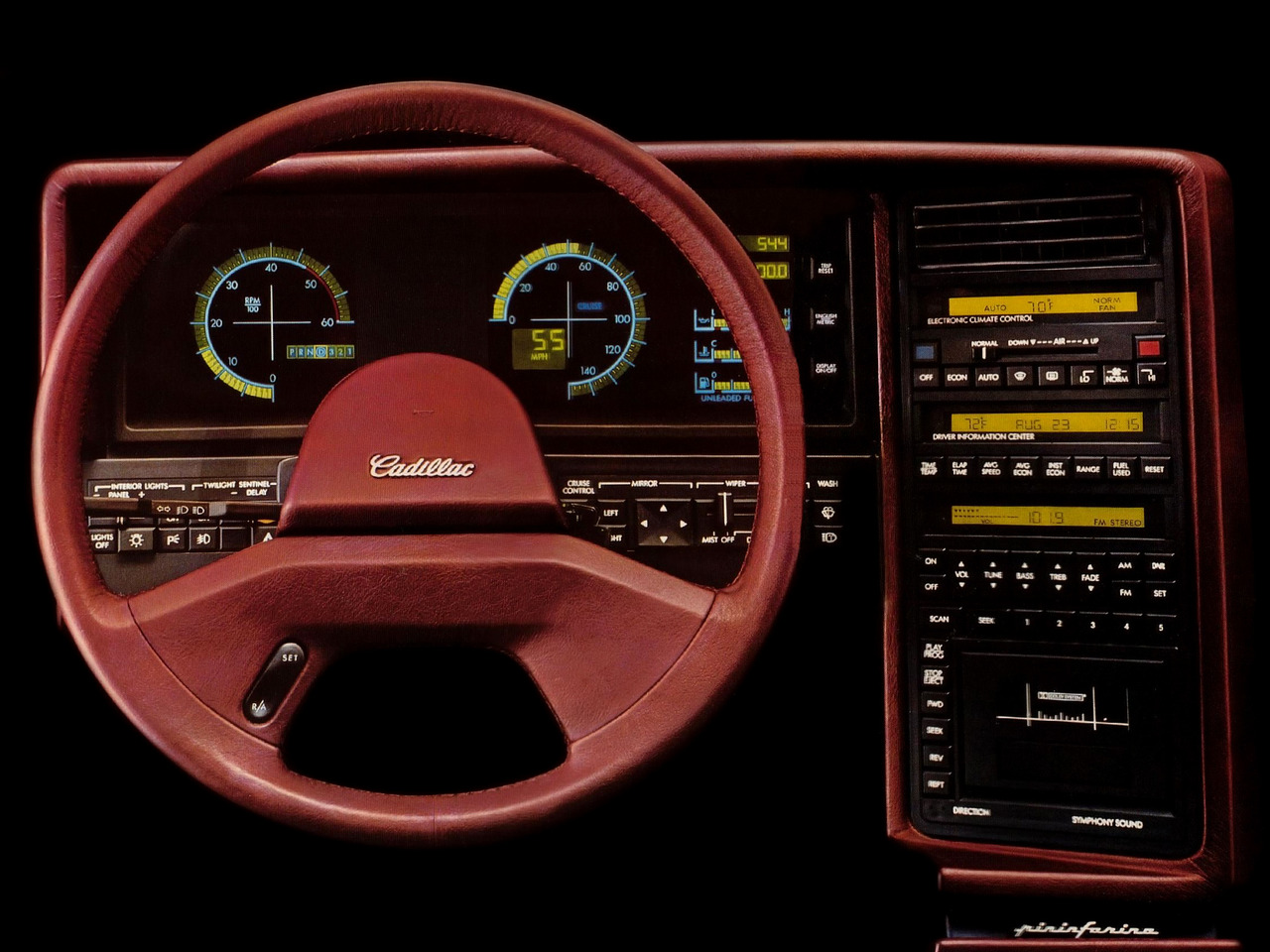 1987 Cadillac Allante - some say it was more complex to operate than the Space Shuttle.