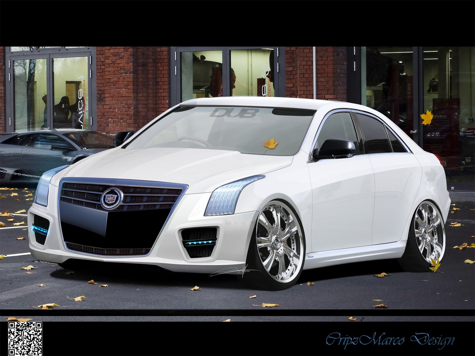 Cadillac Ats Coupe Custom wallpaper | 1600x1200 | #5353