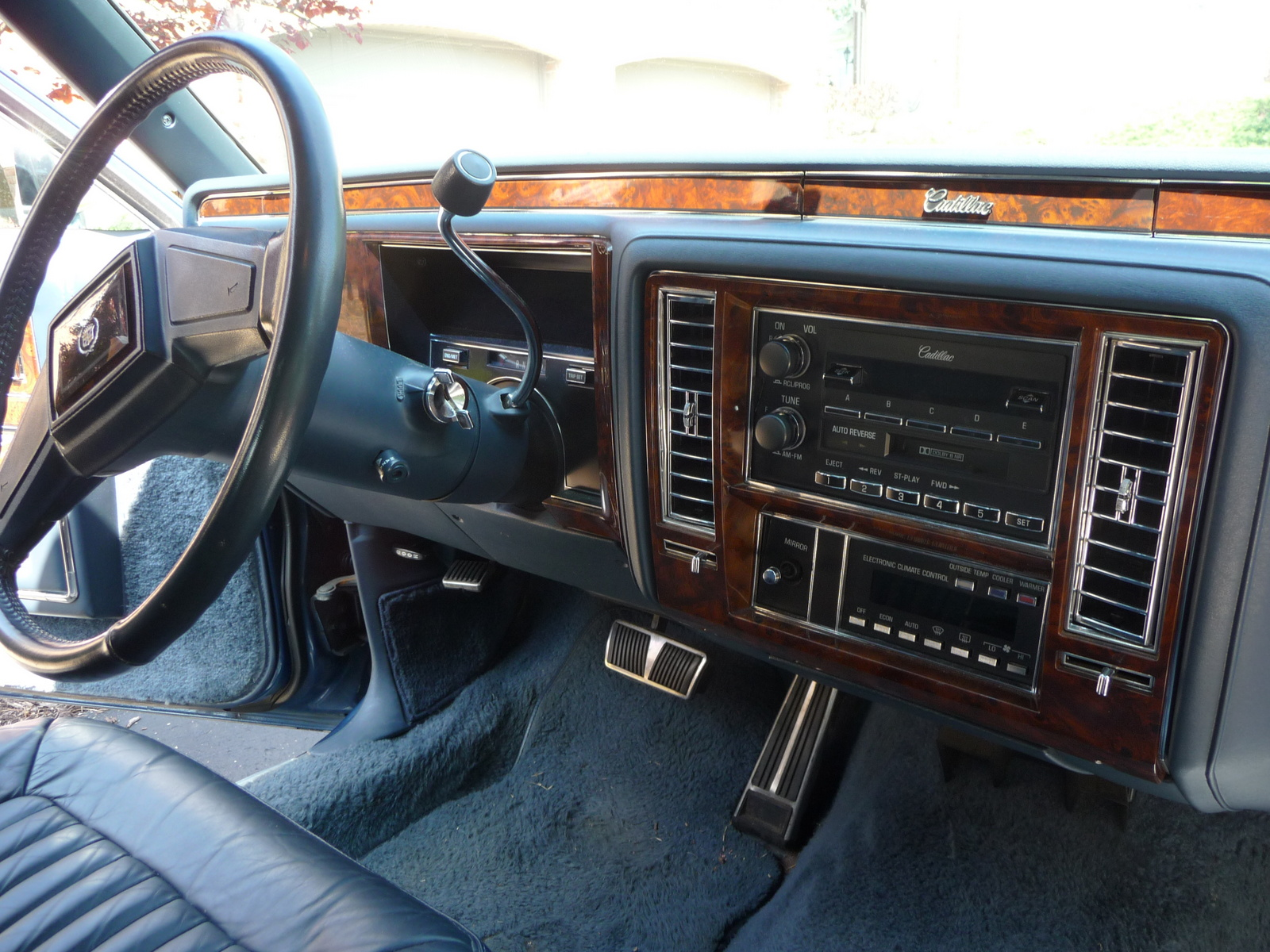 Picture of 1990 Cadillac Brougham Base Sedan, interior