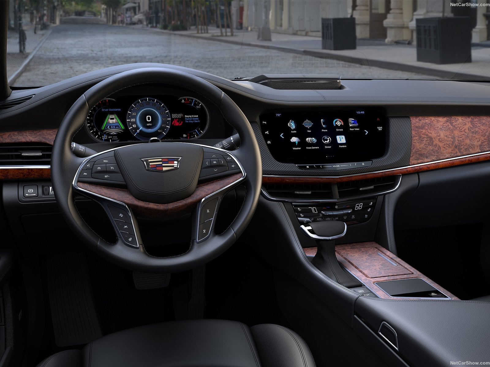 Cadillac CT6 cars sedan 2016 wallpaper background