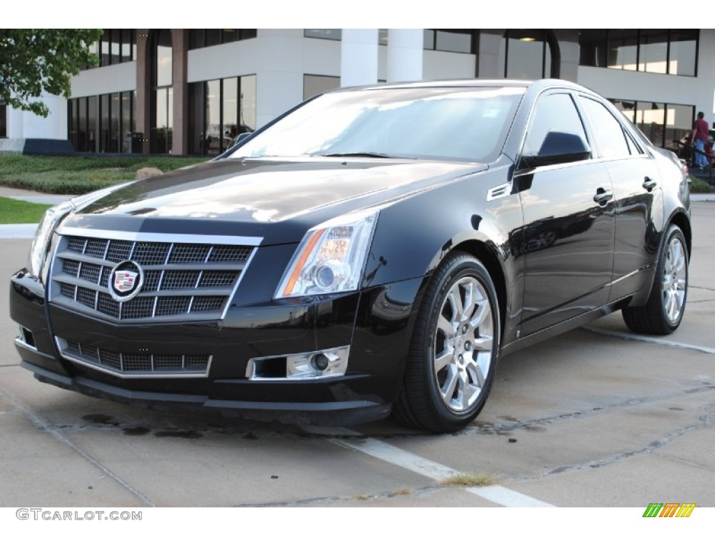 Black Raven 2008 Cadillac CTS Sedan Exterior Photo #56369437