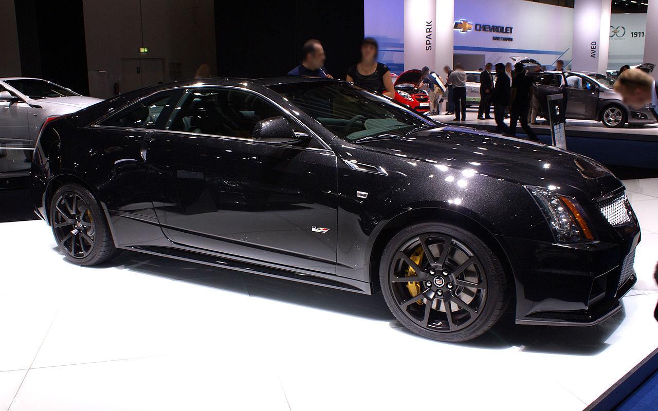 Cadillac Cts V Coupe Custom