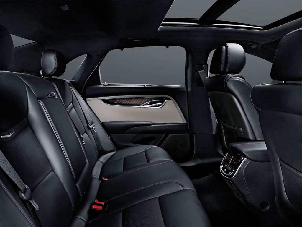 Though actually lighter than the Cadillac CTS, the new XTS is about 12 inches longer, meaning a roomy rear seat.