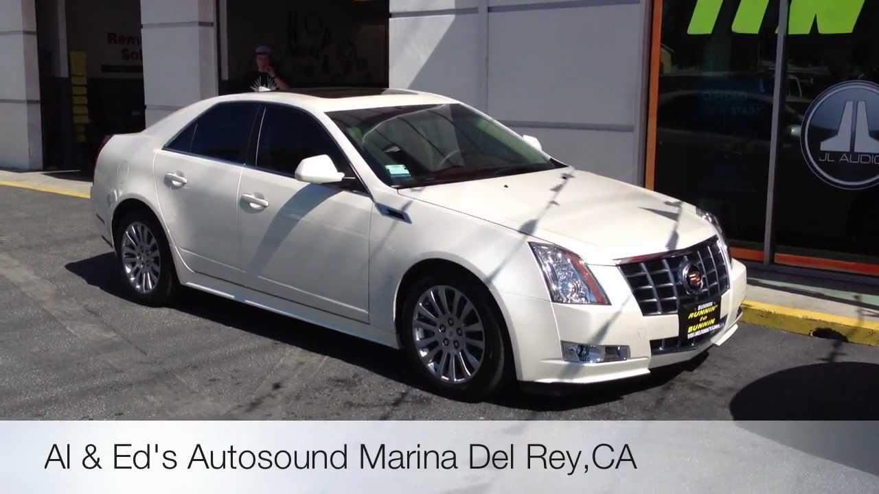 Cadillac Sts 2013 Pearl White