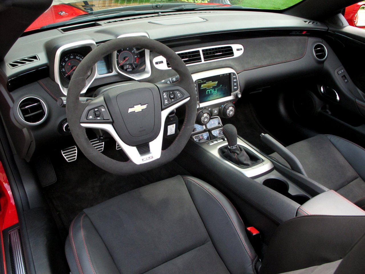 Chevrolet Camaro Interior 2013