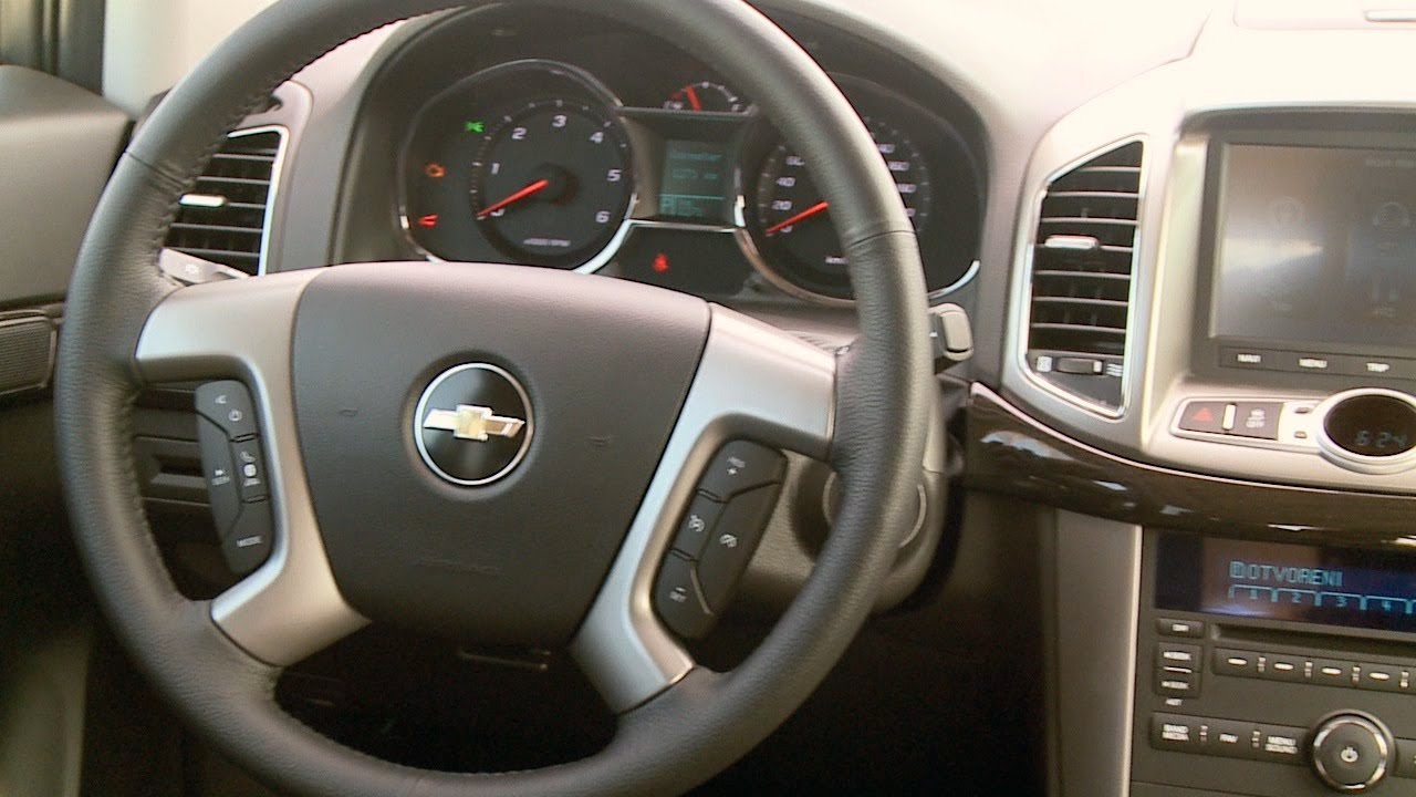 Chevrolet Captiva 2013 Interior