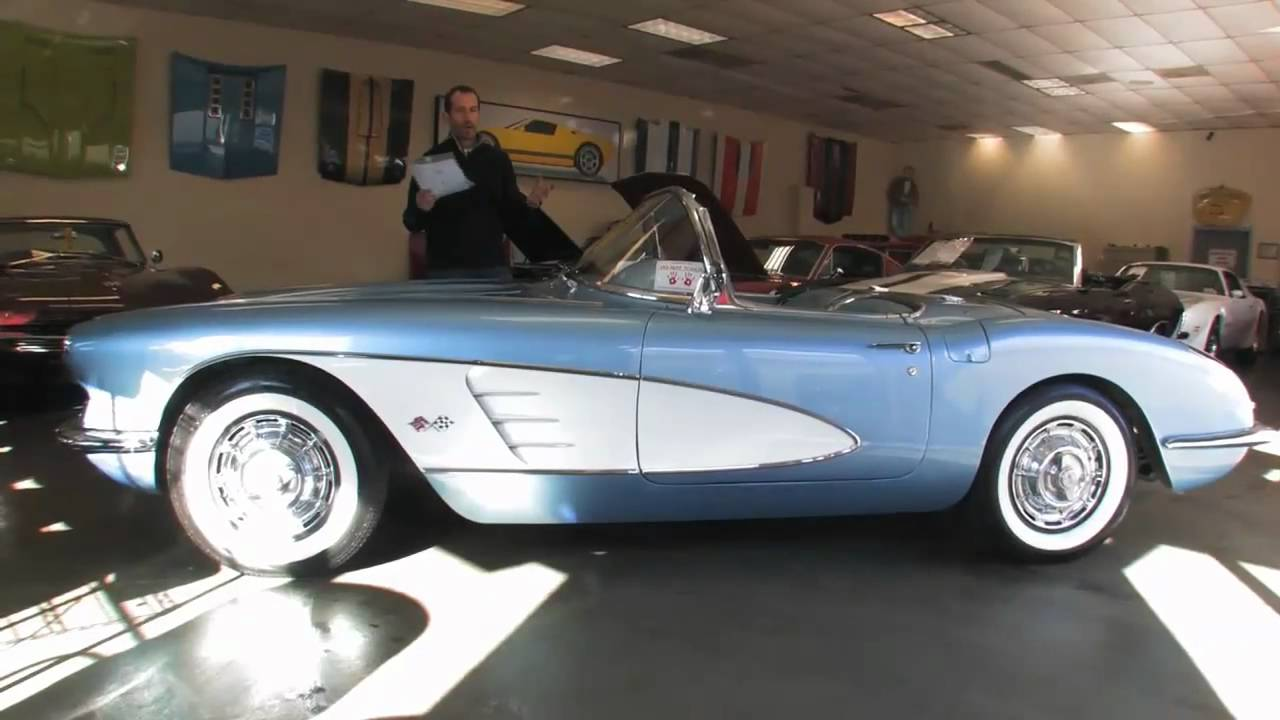 Chevrolet Corvette Stingray 1960