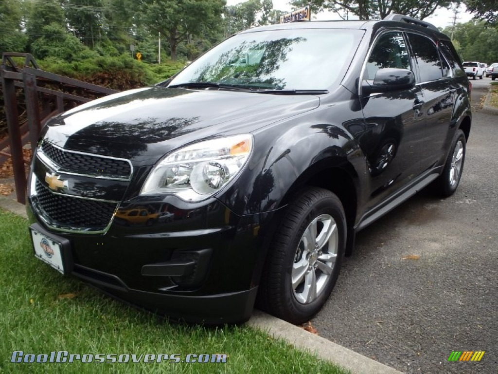 Black Granite Metallic / Jet Black Chevrolet Equinox LT